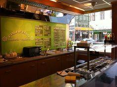 Falaferia. Optional vegane Falafelbox mit Reis oder Falafel-Sandwich, auch Suppen und frische Säfte   Stadtbekannt Wien   Das Wiener Online Magazin