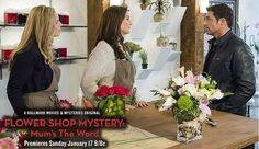 flower show murder mystery