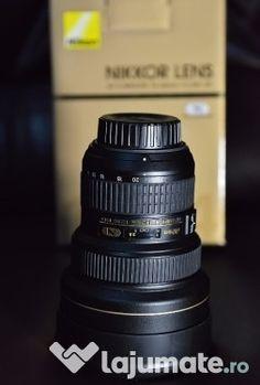 Obiectiv Nikon AF-S NIKKOR 14-24mm f/2.8G ED Drink Bottles, Binoculars, Nikon, Lens, Drinks, Drinking, Beverages, Klance, Drink