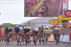#TDF2017 104th Tour de France 2017 / Stage 7 Arrival Sprint / Marcel KITTEL (GER)/ Edvald BOASSON HAGEN (NOR)/ Alexander KRISTOFF (NOR)/ Dylan GROENEWEGEN (NED)/ Michael MATTHEWS (AUS)/ Troyes - Nuits Saint Georges (213,5km) / TDF /