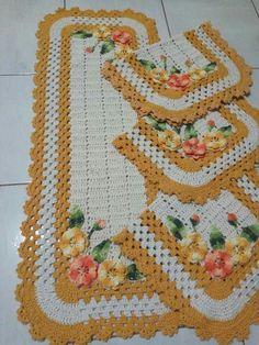 Crochet Braids, Easy Crochet, Free Crochet, Crochet Table Mat, Braided Scarf, Afghan Crochet Patterns, Doilies, Diy And Crafts, Cross Stitch