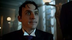 Oswald pleading with Theo for the release of his mother. Gotham Season 2, Movies Showing, Robin, Tv Shows, Batman, Penguin, Life, Penguins, European Robin