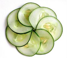 here's a reason many exclusive day spas rely on the simplicity of cucumber slices: research has proven cold cucumbers applied to puffy eyes do....