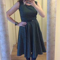 """Tina Harvey on Instagram: """"Made a dress last week for a work do. Self drafted bodice with circle skirt and fabric from Goldhawk Road #goldhawkroad…"""" Dress Making, Bodice, Skirts, Fabric, How To Make, Instagram, Dresses, Fashion, Vestidos"""