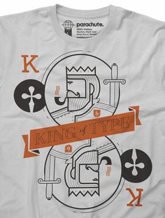 King of Type Shirt from Parachute ($22)