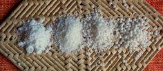 Farinhas de tapioca e sagu