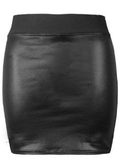 Shop Black Elastic Bodycon PU Leather Skirt online. Sheinside offers Black Elastic Bodycon PU Leather Skirt & more to fit your fashionable needs. Free Shipping Worldwide!