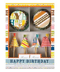 Take a look at this Happy Birthday Cupcake Kit by Meri Meri on #zulily today!