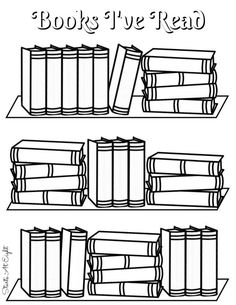 Book Lists Printable Book to Read and Books I've Read