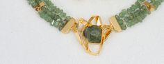 Lås i gult gull med demantoid granater Gull, Beaded Bracelets, Jewelry, Jewlery, Jewels, Jewerly, Jewelery, Seed Bead Bracelets, Pearl Bracelet