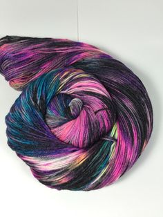 A personal favorite from my Etsy shop https://www.etsy.com/listing/489781956/elsa-sock-hand-dyed-yarn-sock-yarn
