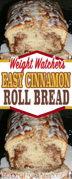 Birthday cake ideas easy cinnamon rolls 36 ideas for 2019 Healthy Recipes, Ww Recipes, Cooking Recipes, Recipies, Bread Recipes, Muffin Recipes, Cake Recipes, Weight Watchers Breakfast, Weight Watchers Desserts