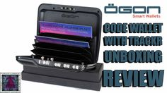 ÖGON Designs Code Wallet With TrackR Unboxing & Review Coding, Wallet, Design, Purses, Diy Wallet, Purse, Programming