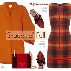 Shades of Fall:Orange and Red