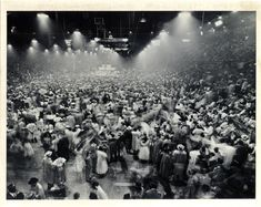 March 21 - First reported rock and roll riot breaks out at Alan Freed's Moondog Coronation Ball in Cleveland, Ohio. Teenage excitement is blamed for the frenzy.