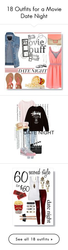 """18 Outfits for a Movie Date Night"" by polyvore-editorial on Polyvore"