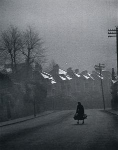 Fog Rolling In Swansea, Wales photo by Carl Mydans, 1954