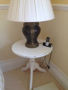 A solid pine table hand painted in Annie Sloan pure giving it a brand new stylish look x