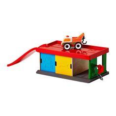 LILLABO Garage con carro attrezzi   - IKEA