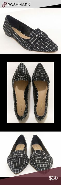 🆕 Sole Society | Celia Plaid Pointy Toe Flat EUC Sole Society Celia plaid pointy toe flats. Gently used. Excellent condition.  Size: 9  Non-smoking/No pet home  Please review all photos and submit questions if needed. Sole Society Shoes Flats & Loafers