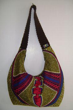 Heartical Vibez Ila Designs Bobo Bag 100 African by iladesigns, $32.00