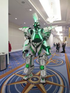 Awesome Overkill robot cosplay at Katsucon 2014