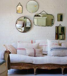 mirrors wall art