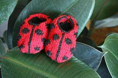 Ravelry: Ladybird Shoes pattern by Zoë Mellor