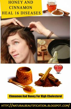 HONEY AND CINNAMON HEAL 16 DISEASES | http://naturalbeautification.blogspot.com/