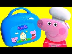 Peppa Pig Pizzeria Playset Pizza Shop Carry Case PlayDoh Maletín Pizzería Cerdita Peppa - YouTube