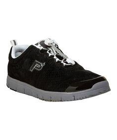 This Black Travel Walker Suede Sneaker is perfect! #zulilyfinds