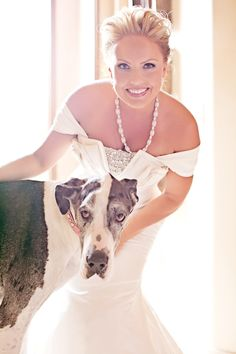 Real Wedding: A Glamorous Arizona Country Club Wedding -www.donebrilliantly.com    If I did my wedding again...sookie would so be there. <3 THIS!!!