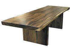 Genial Beautiful Single Piece Hardwood Table