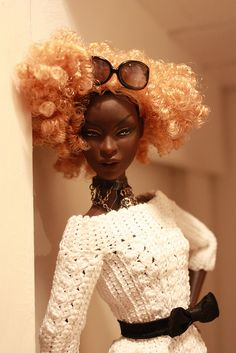 Muse gets an afro by em`lia, via Flickr