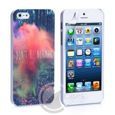 Don't Be Normal iPhone 4, 4S, 5, 5C, 5S Samsung Galaxy S2, S3, S4 Case – iCasesStore