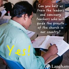 """Langham's founder #JohnStott was regularly asked 3 questions on his travels around the world.  Question 2: """"Can you provide our churches and schools with books to help us learn?""""  Through Langham, the answer is still """"yes""""!  #Bible #Global #pastors #preaching #training"""