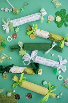 st. patrick's day surprise crackers | oh happy day!