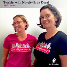 This is a soft and light cotton V-neckline teeshirt decorated with a full-colour printed transfer of a fun original design by Lumigrafika. Available in CHERRY RED and BLACK. Novelty Print, Tee Shirts, Tees, Cherry Red, Creative Studio, Neckline, Colour, The Originals, Printed