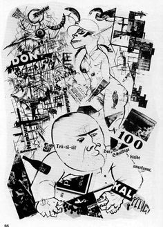 """""""The Guilty one remains unknown"""" by George Grosz, 1919 by Austin Kleon, on Flickr"""