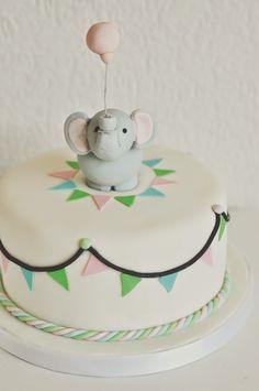 Elefanten Geburtstagstorte