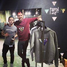 Show & Order #messe #fun #thankyouforhavinus #Startup #Sweater #patches #Hamburg #Fashion #fair