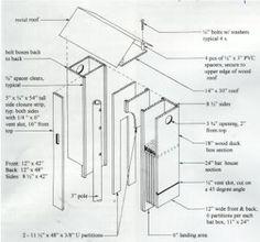 27 bat house plans: bat nurseries, bat rocket boxes, bird + bat
