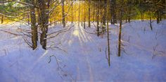 The Chapel White Pine Suite: The Cathedral  oil/panel, 36x36 Contact Peter Fior