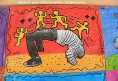 Au pays des artistes, nous avons rencontré Keith Haring - Les cahiers de Joséphine