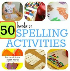 50 Hands-On Spelling Activities | This Reading Mama