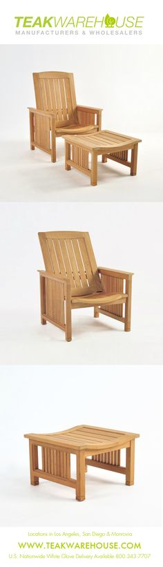 This A Grade Teak Recliner Adds Comfortable Elements To Your Outdoor Living  Space. Discover