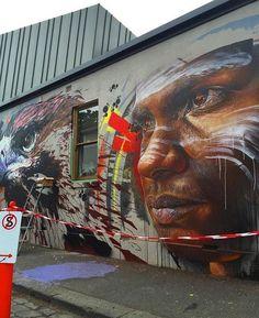 Nuovo pezzo dello street artist australiano Adnate