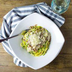 Beautiful combination of artichoke, mushroom and zucchini come together under asiago cream.