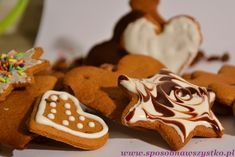 Przepis na świąteczne pierniki Gingerbread Cookies, Merry Christmas, Sugar, Baking, Recipes, Polish, Biscuits, Recipies, Nature