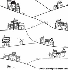 House Coloring Page 15